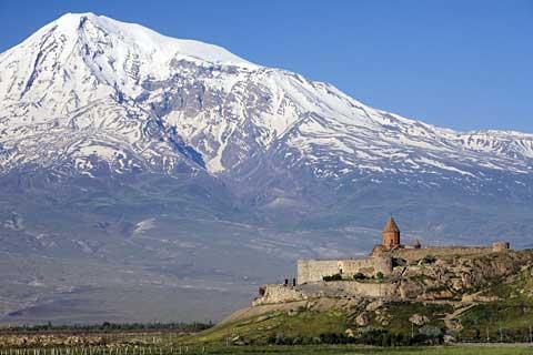 Armenien Monastery Khor Virap