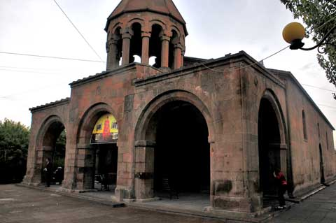Saint Gevorg Church, Noragavit Նորագավիթ, Yerevan / Erivan