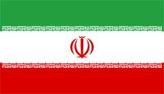 Flagge der Islamische Republik Iran