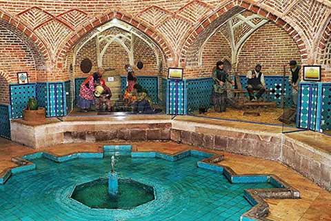 Qajar Bathhouse & Anthropology Museum, Qazvin