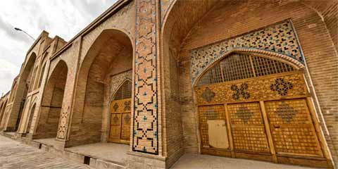 Ancient Jameh Mosque, Freitagsmoschee, Qazvin